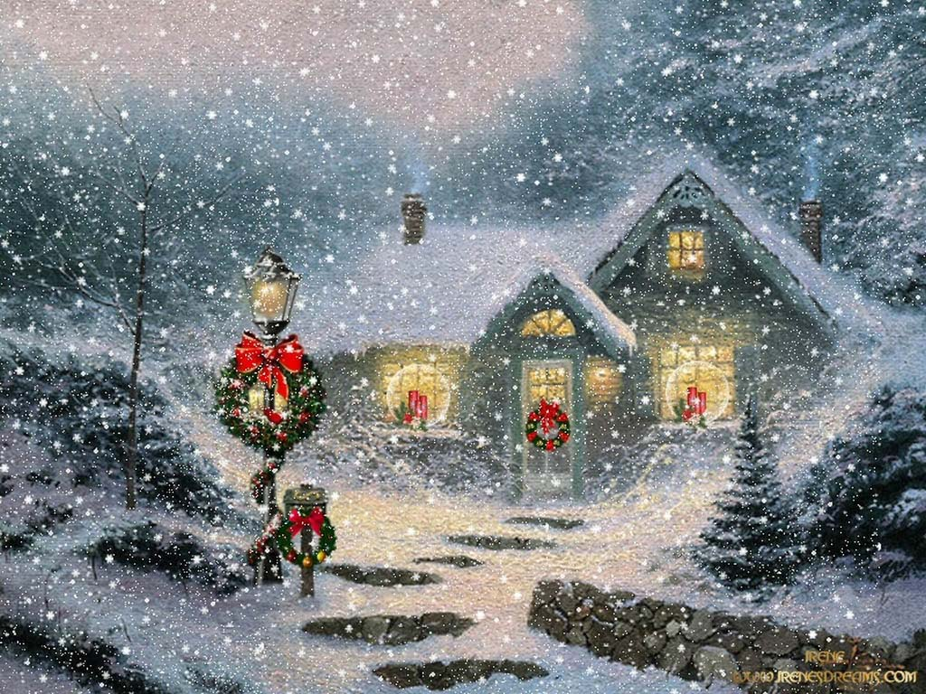 Old Fashioned Christmas Wallpaper