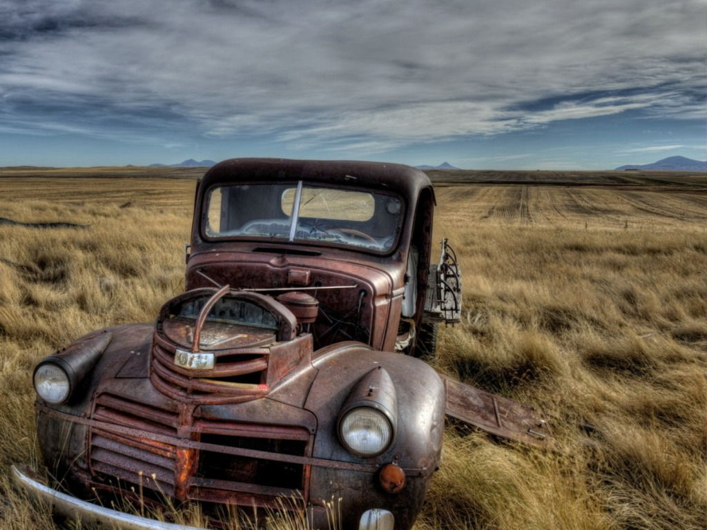 Old Ford Truck Wallpaper
