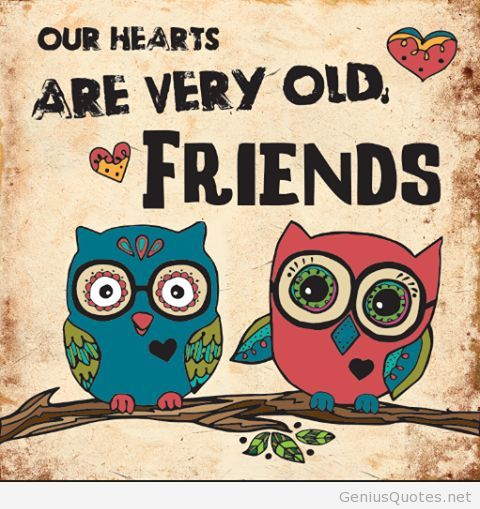 Old Friends Wallpaper