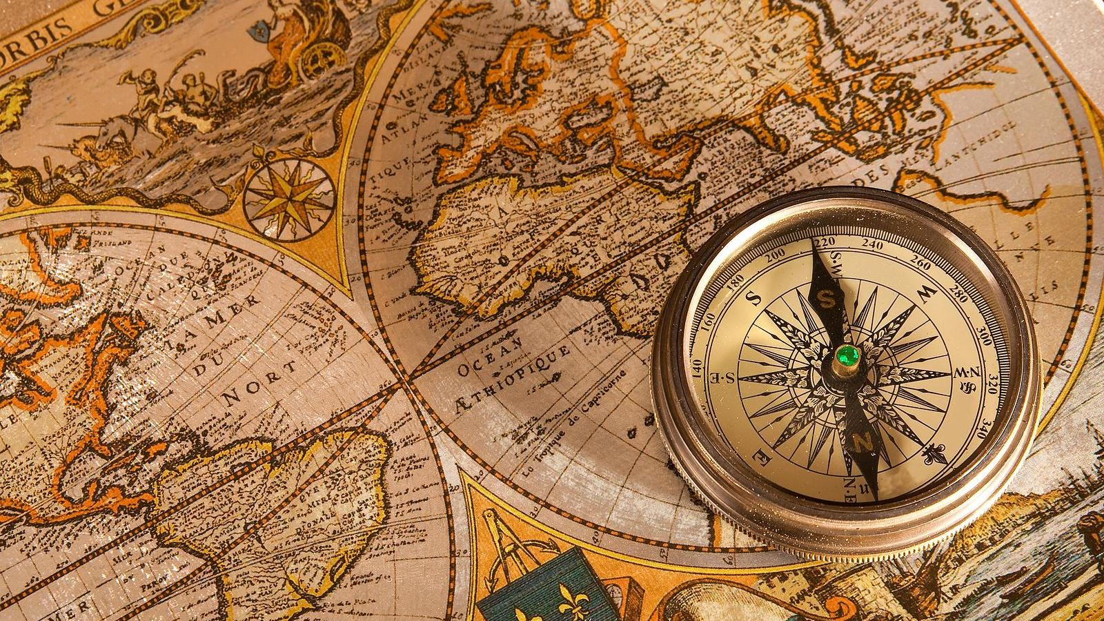 Old Map Wallpaper
