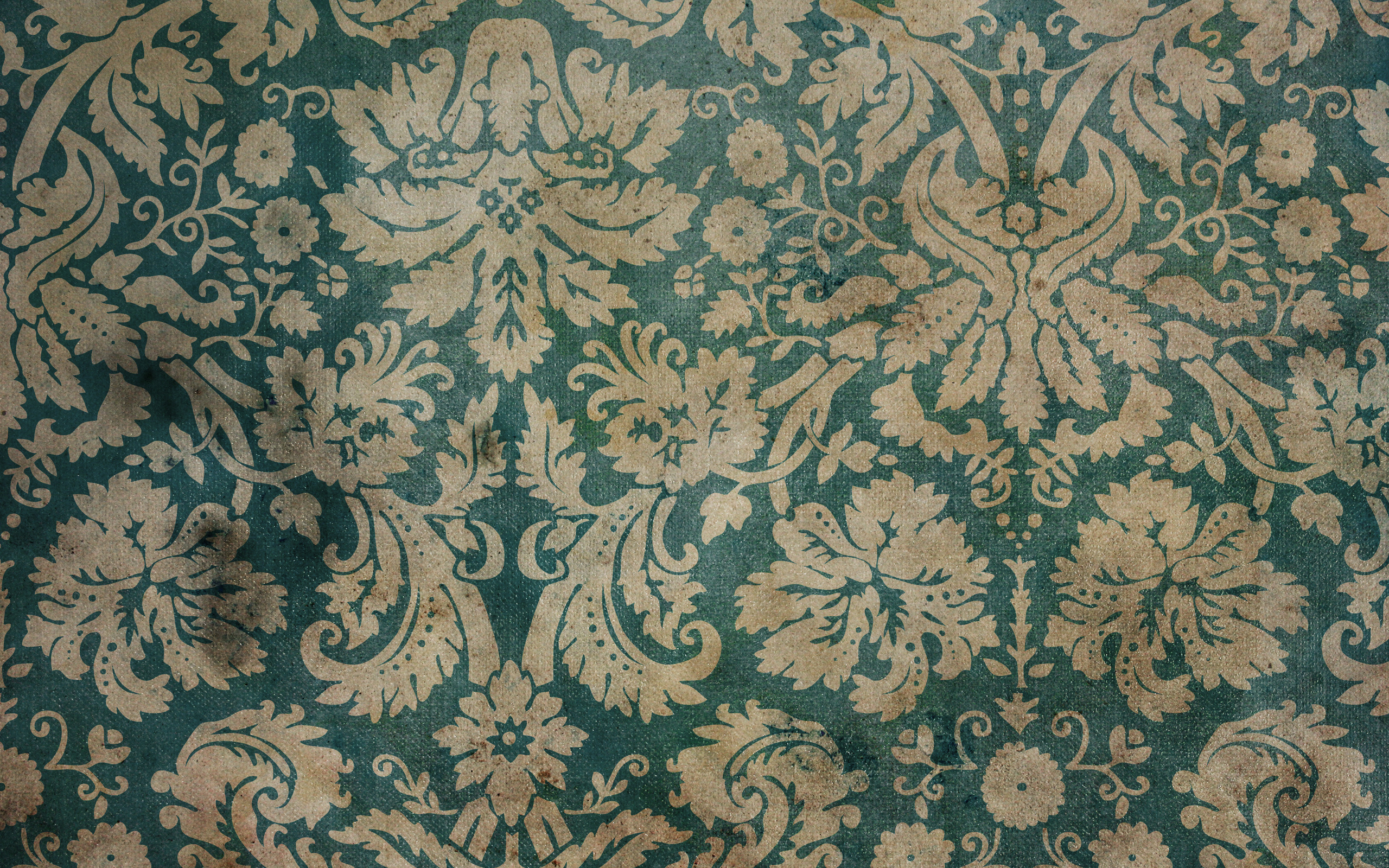 Old Wallpaper Pattern