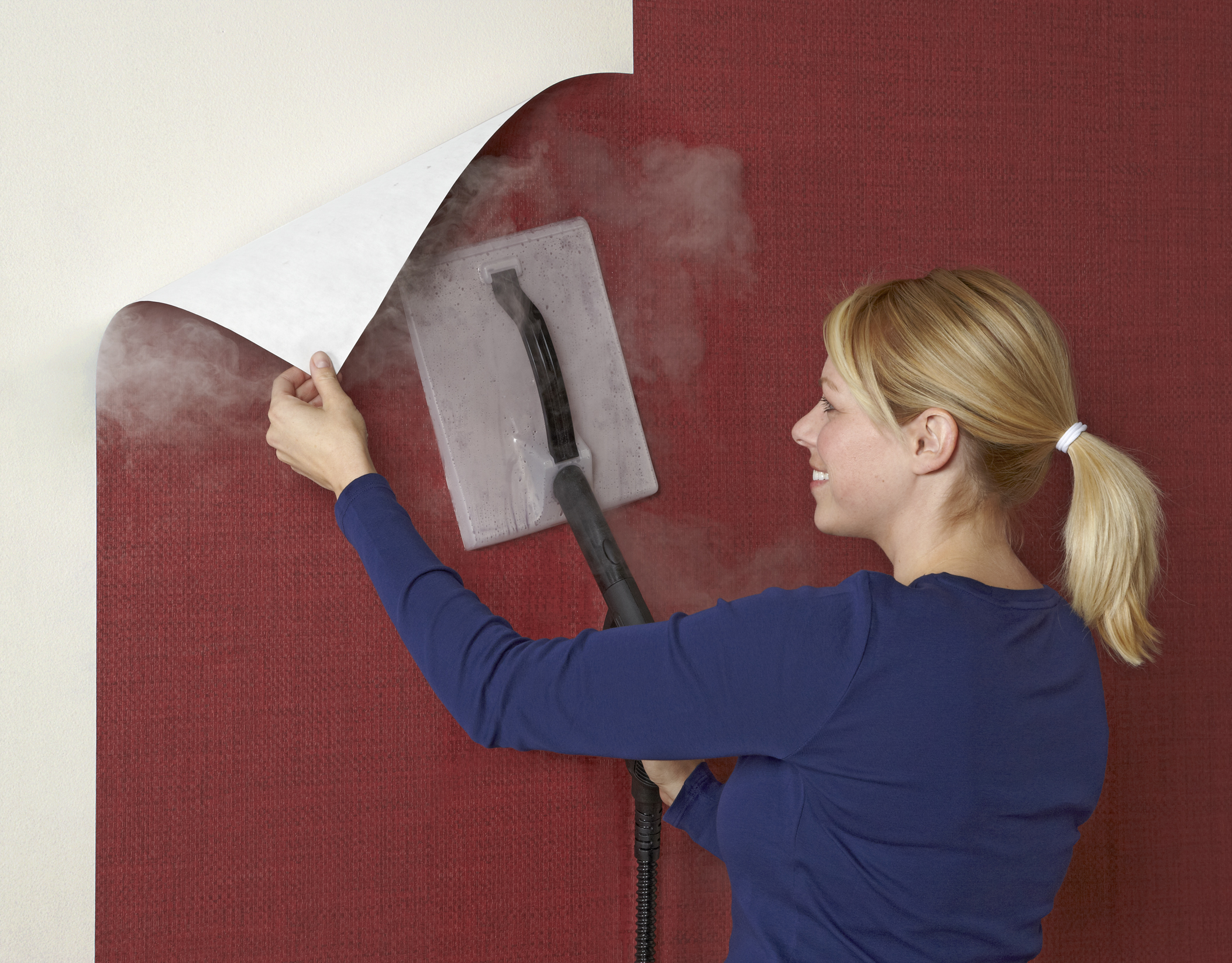 Charming Old Wallpaper Removal