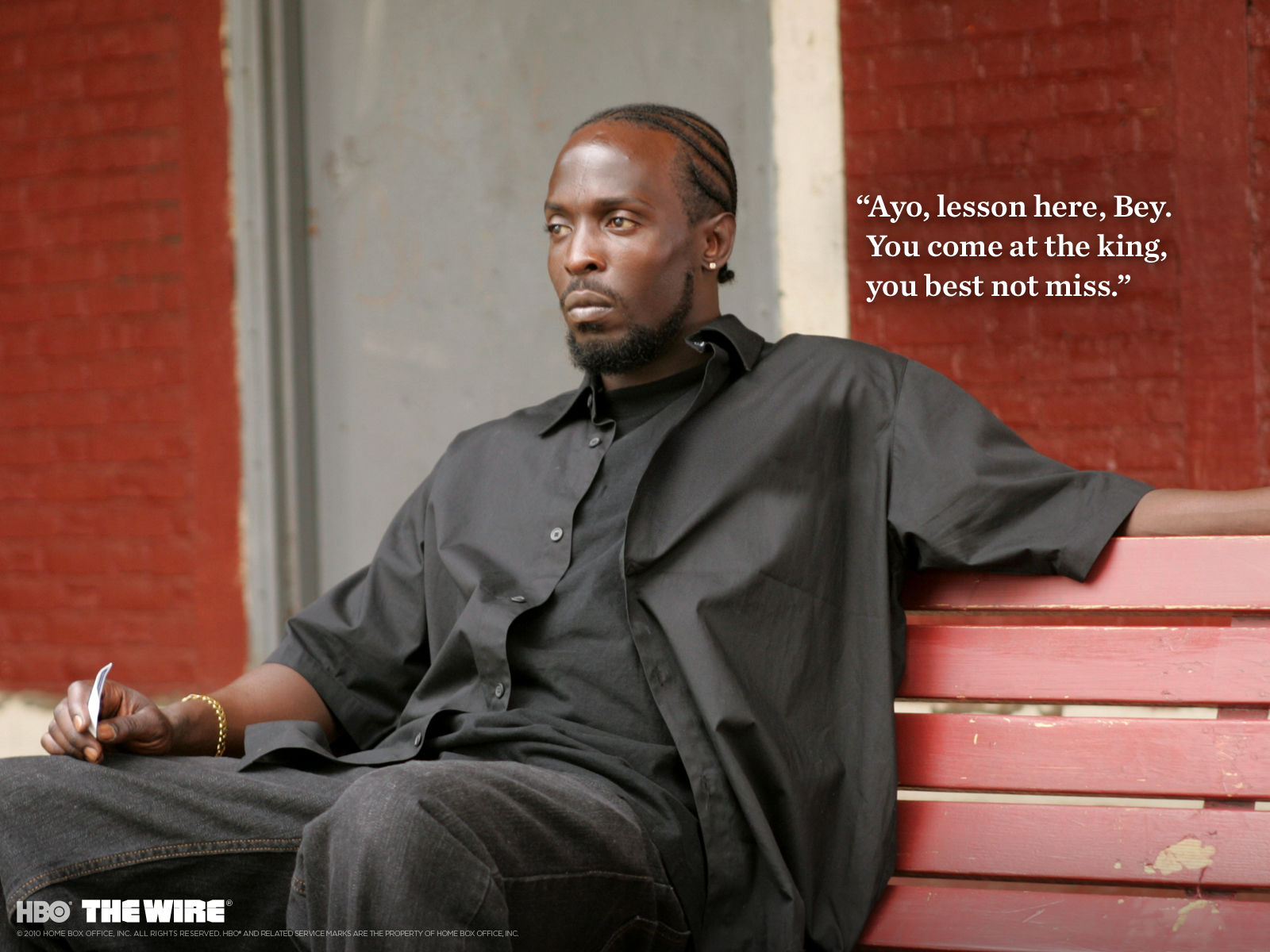 Omar Little Wallpaper