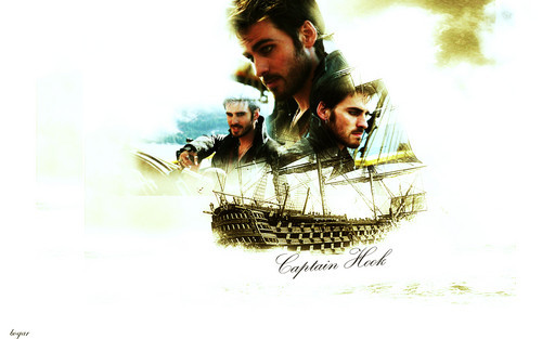 Once Upon A Time Captain Hook Wallpaper
