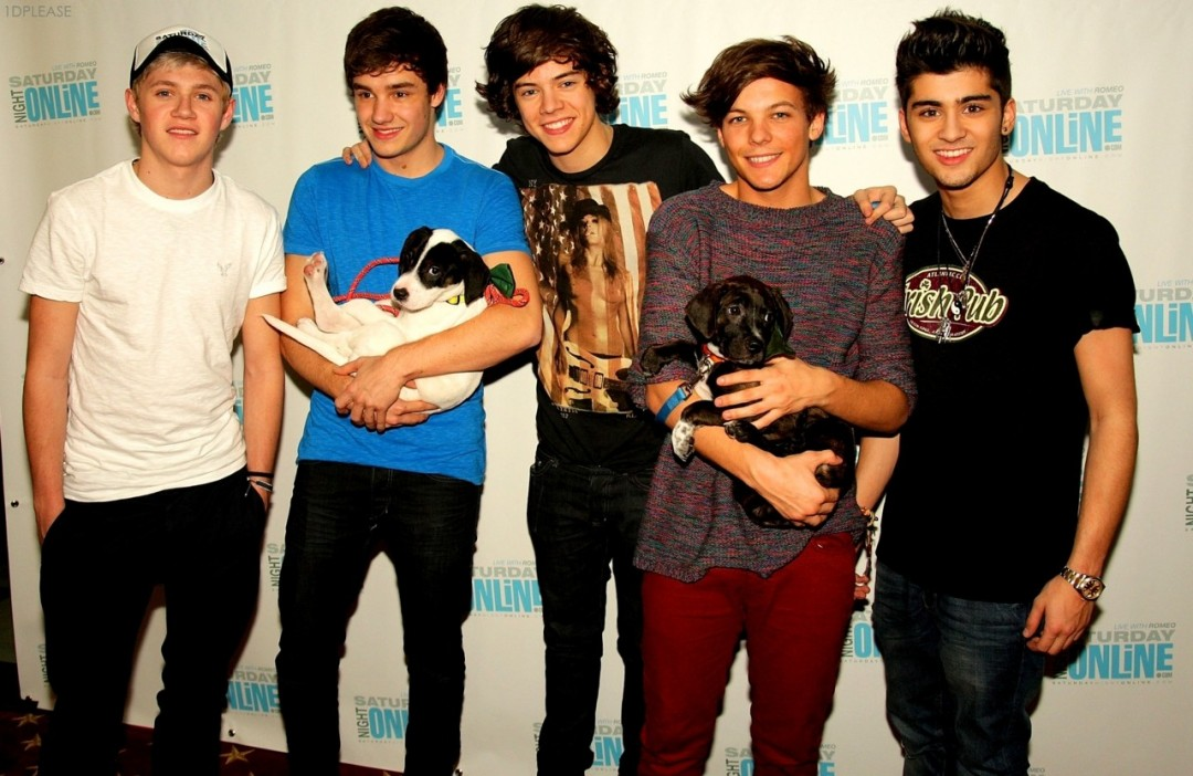 One Direction Wallpaper 2011