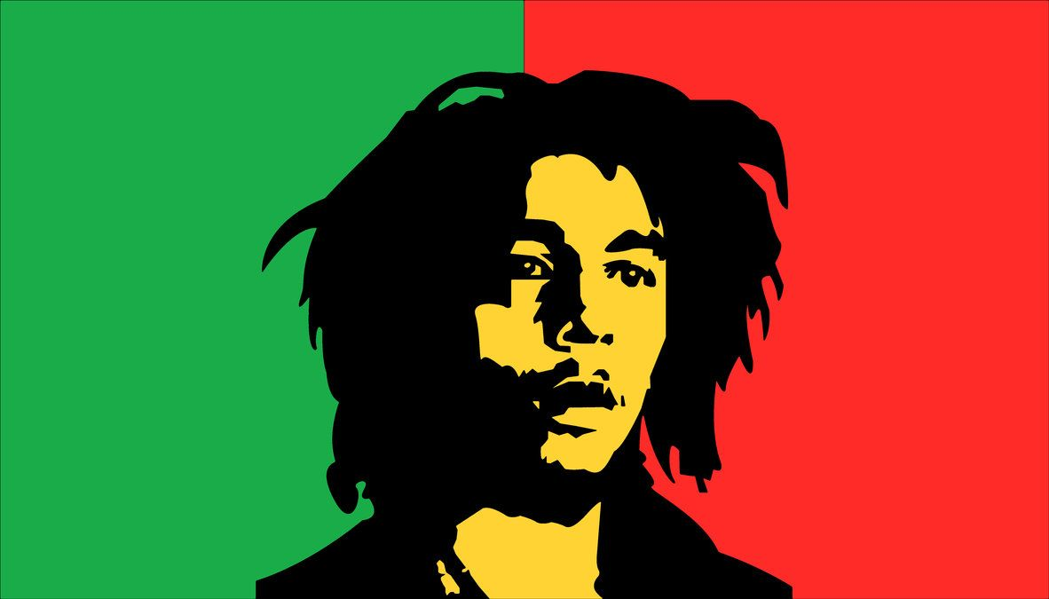 One Love Bob Marley Wallpaper