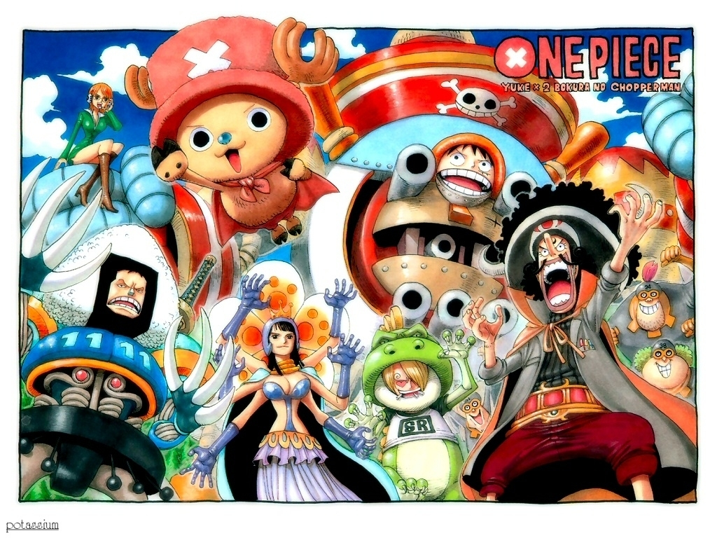 One Piece Christmas Wallpaper