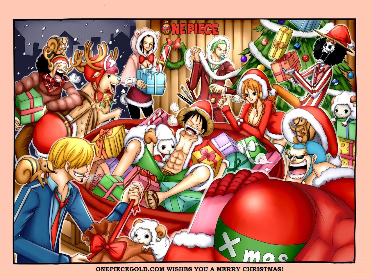 Download One Piece Christmas Wallpaper Gallery