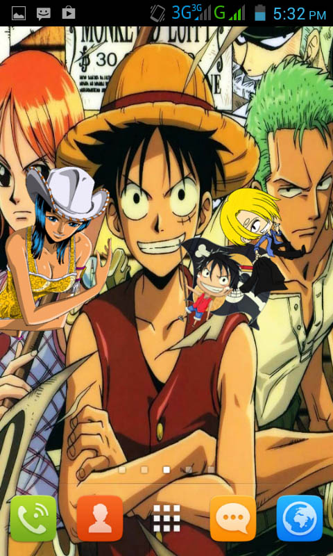 download one piece live wallpaper apps gallery