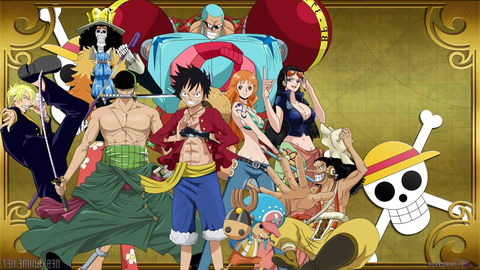 One Piece Luffy New World Wallpaper