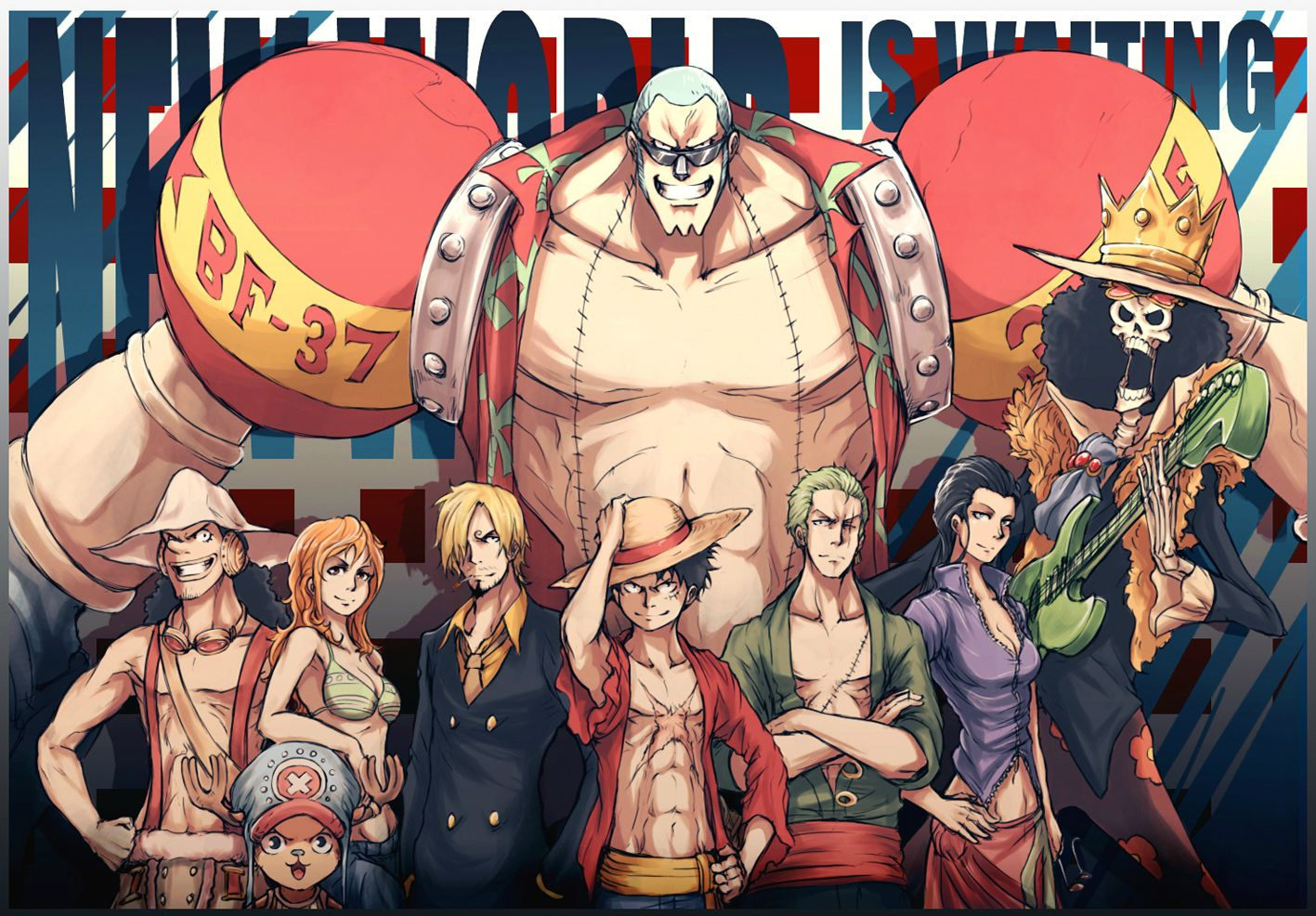 One Piece New World Wallpaper