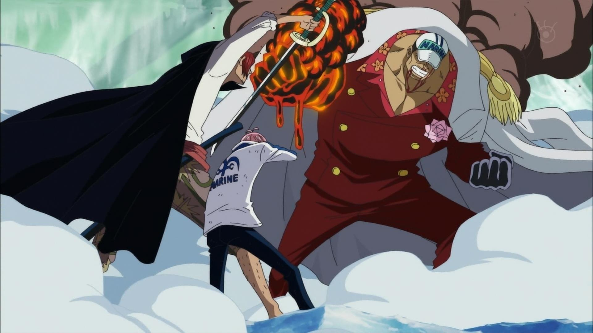 One Piece (anime) pirates Shanks wallpaper | 1920x1080 | 218717 ...