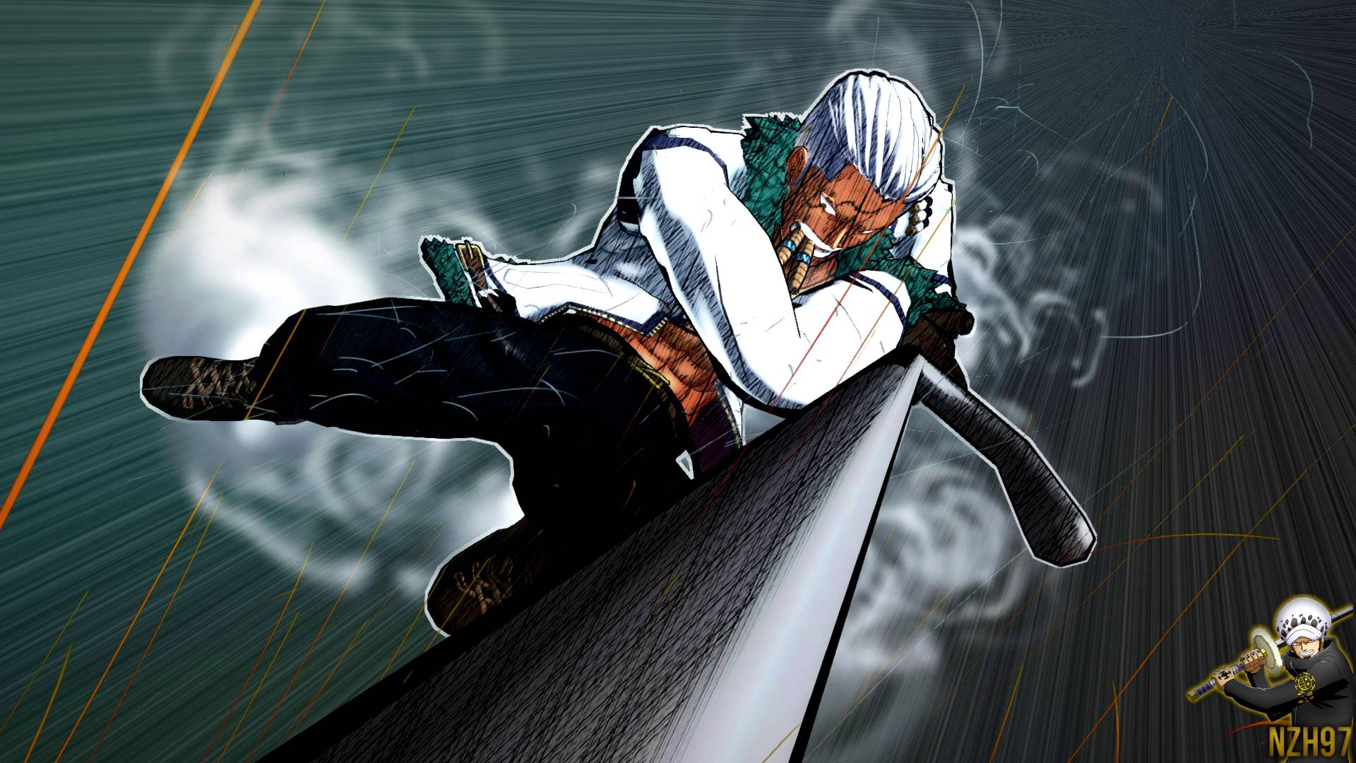 Download One Piece Smoker Wallpaper Gallery