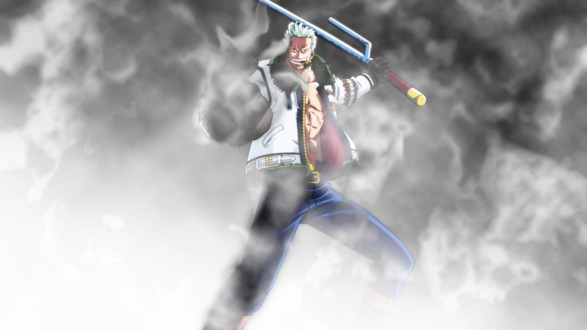 One Piece Smoker Wallpaper
