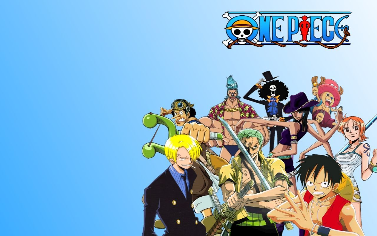 One Piece Straw Hat Pirates Wallpaper