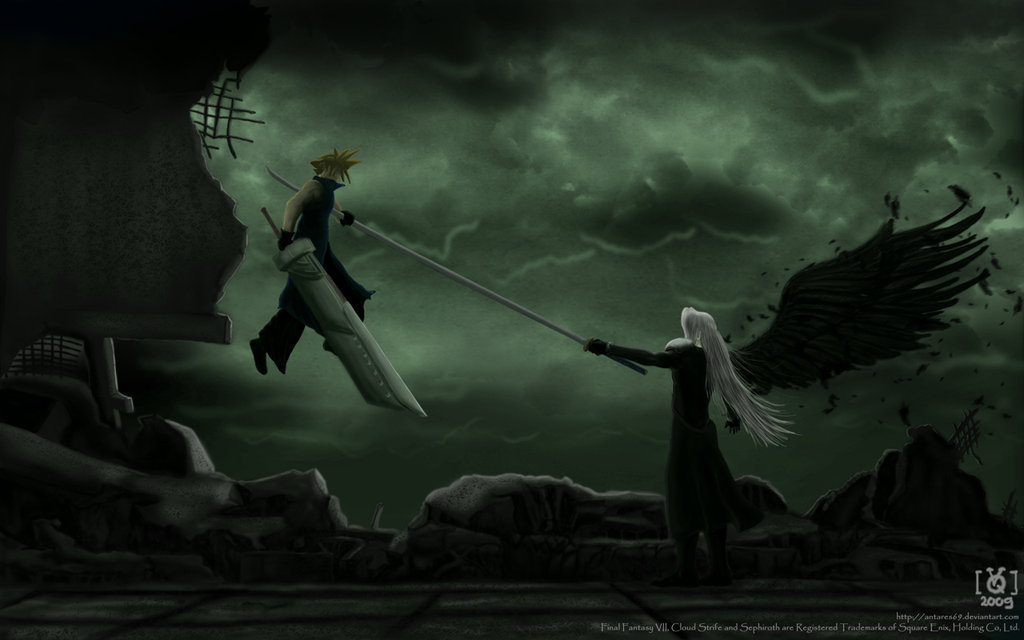 Download One Winged Angel Wallpaper Gallery