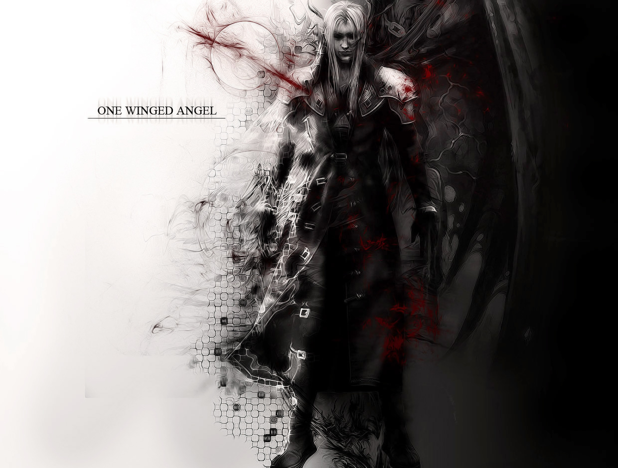 One Winged Angel Wallpaper