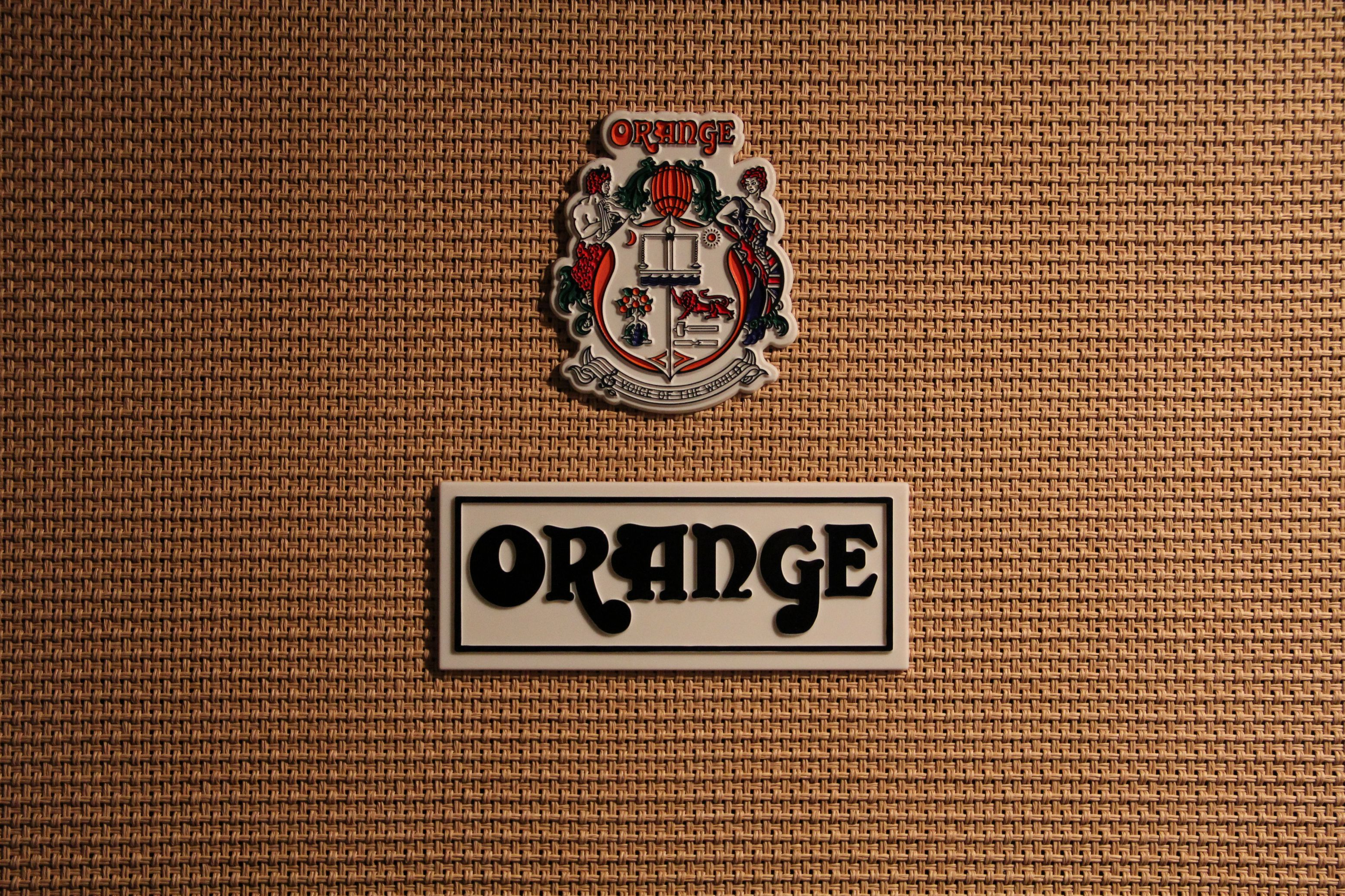 Orange Amp Wallpaper