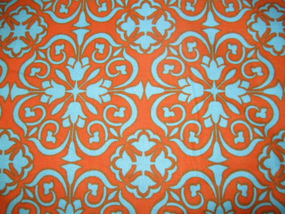 Orange And Teal Wallpaper