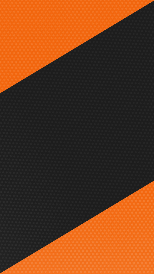 Orange Black Wallpaper