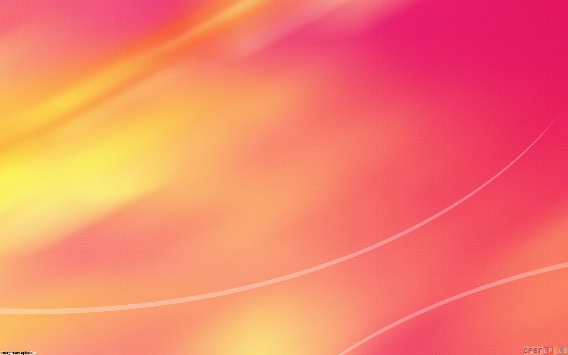 Orange Pink Wallpaper