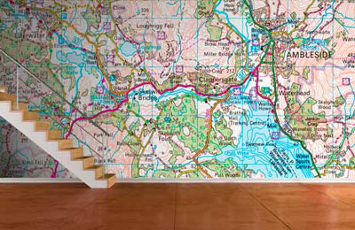 Ordnance Survey Wallpaper
