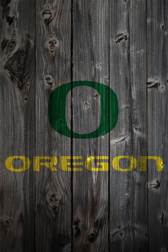 Oregon Duck Iphone Wallpaper