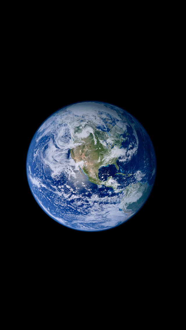 Original Iphone Earth Wallpaper