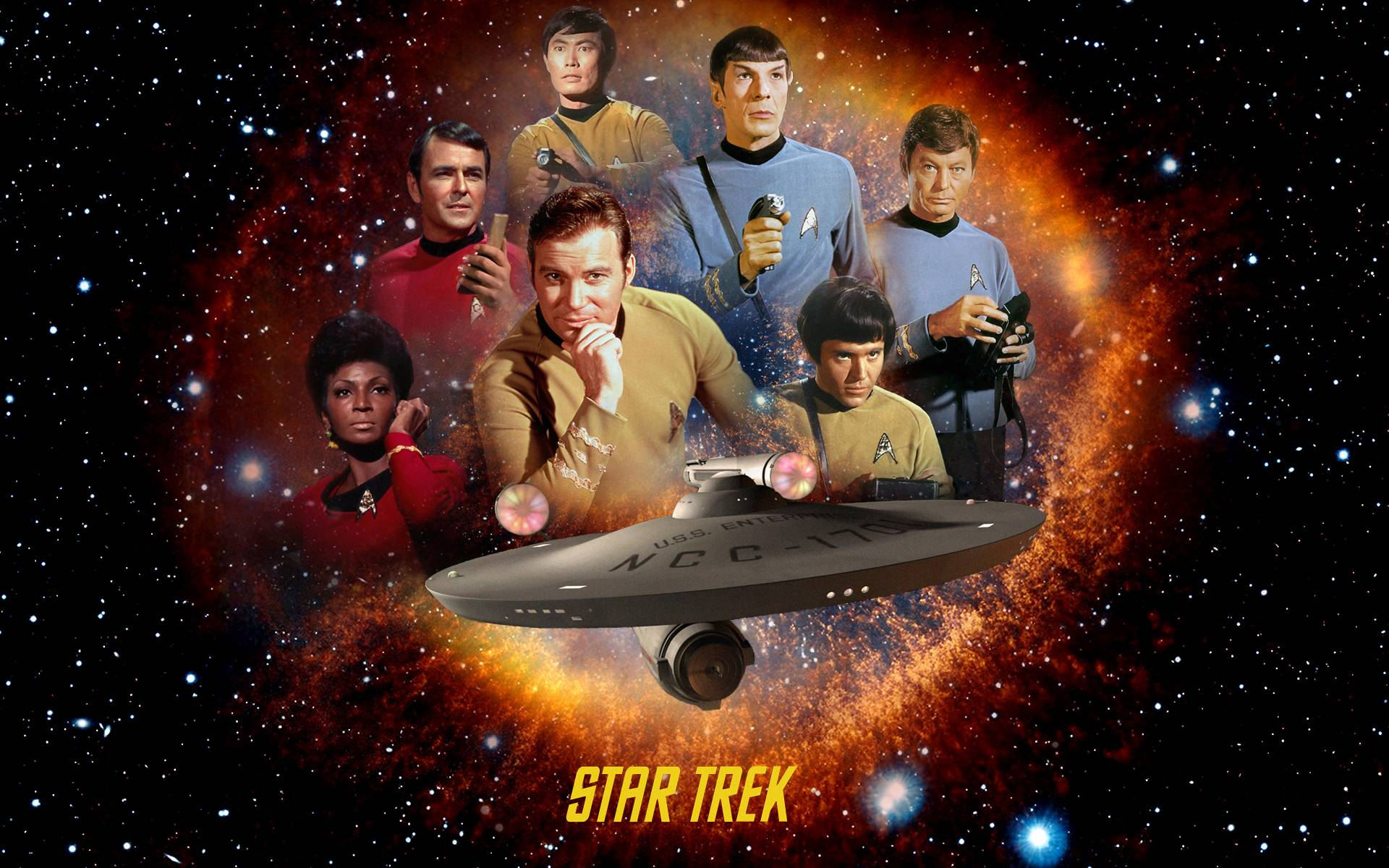 Original Star Trek Wallpaper
