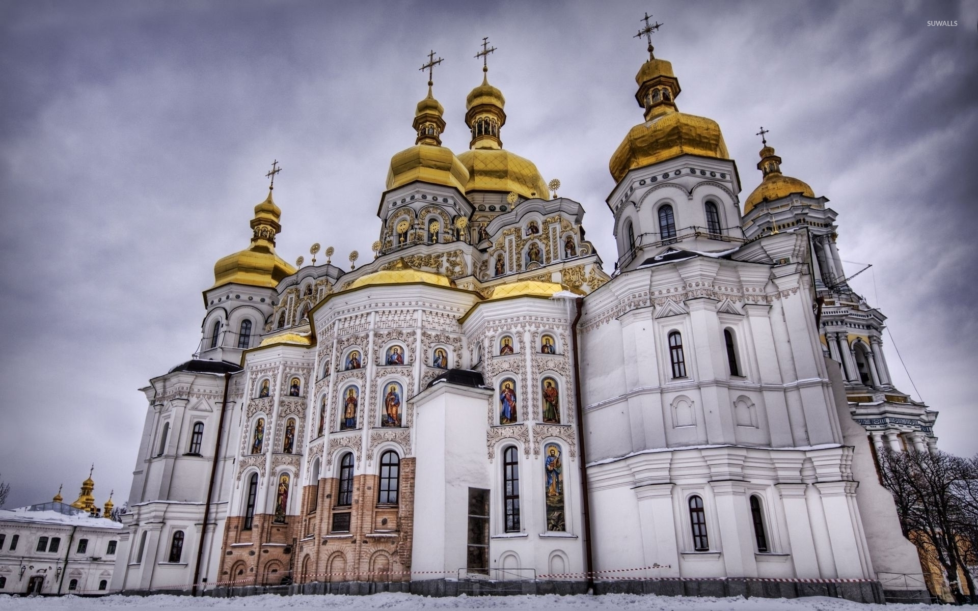 Orthodox Church Wallpaper