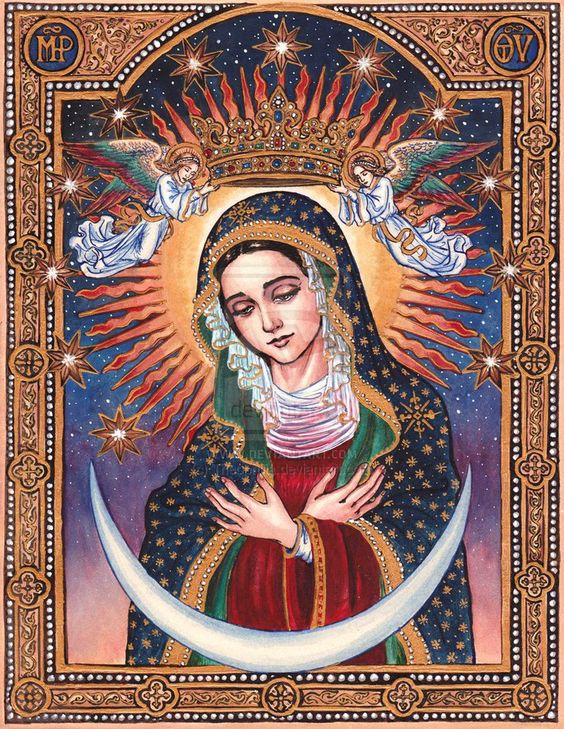 our lady of guadalupe and magnificent