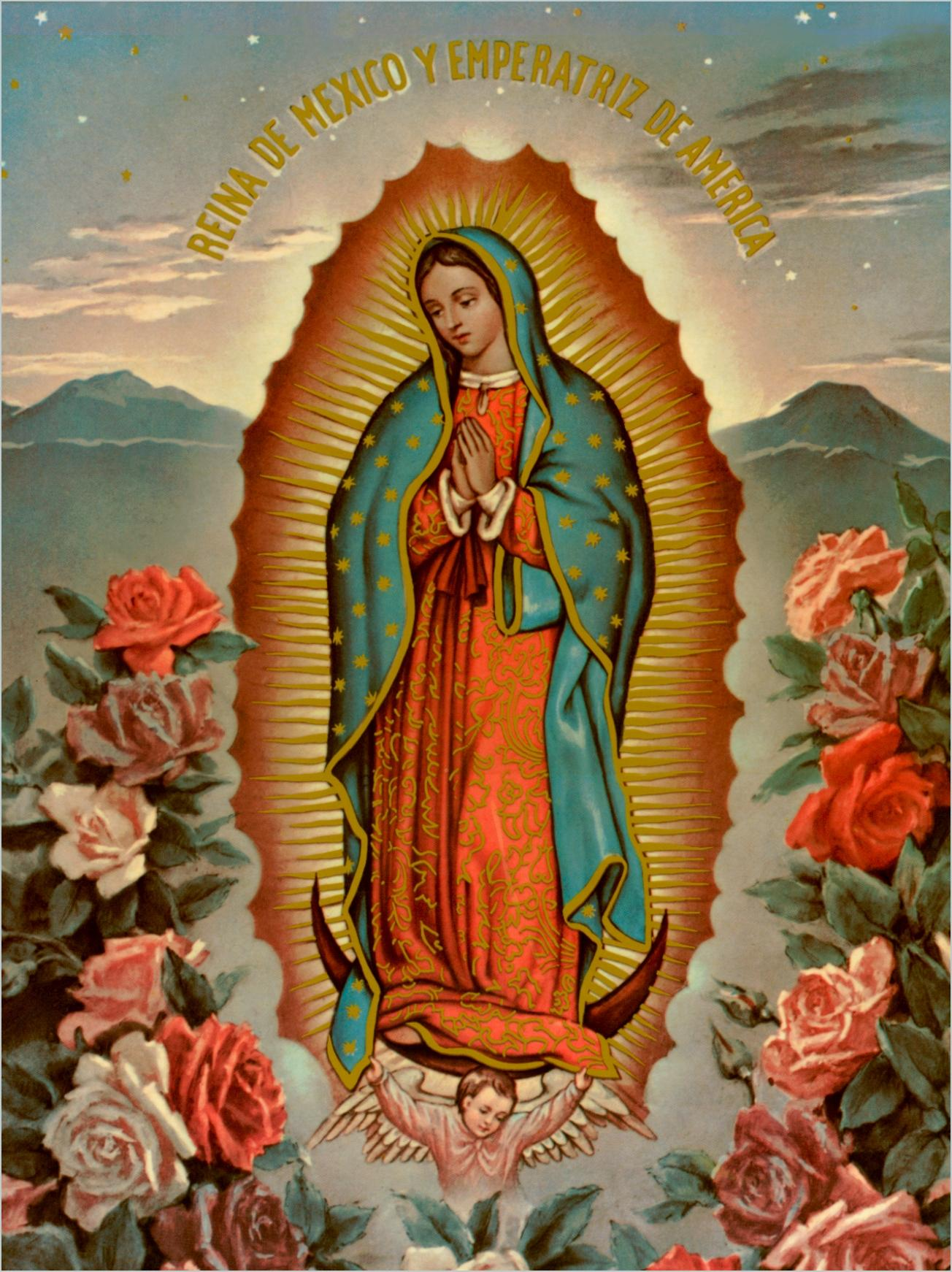Our Lady Of Guadalupe Wallpaper