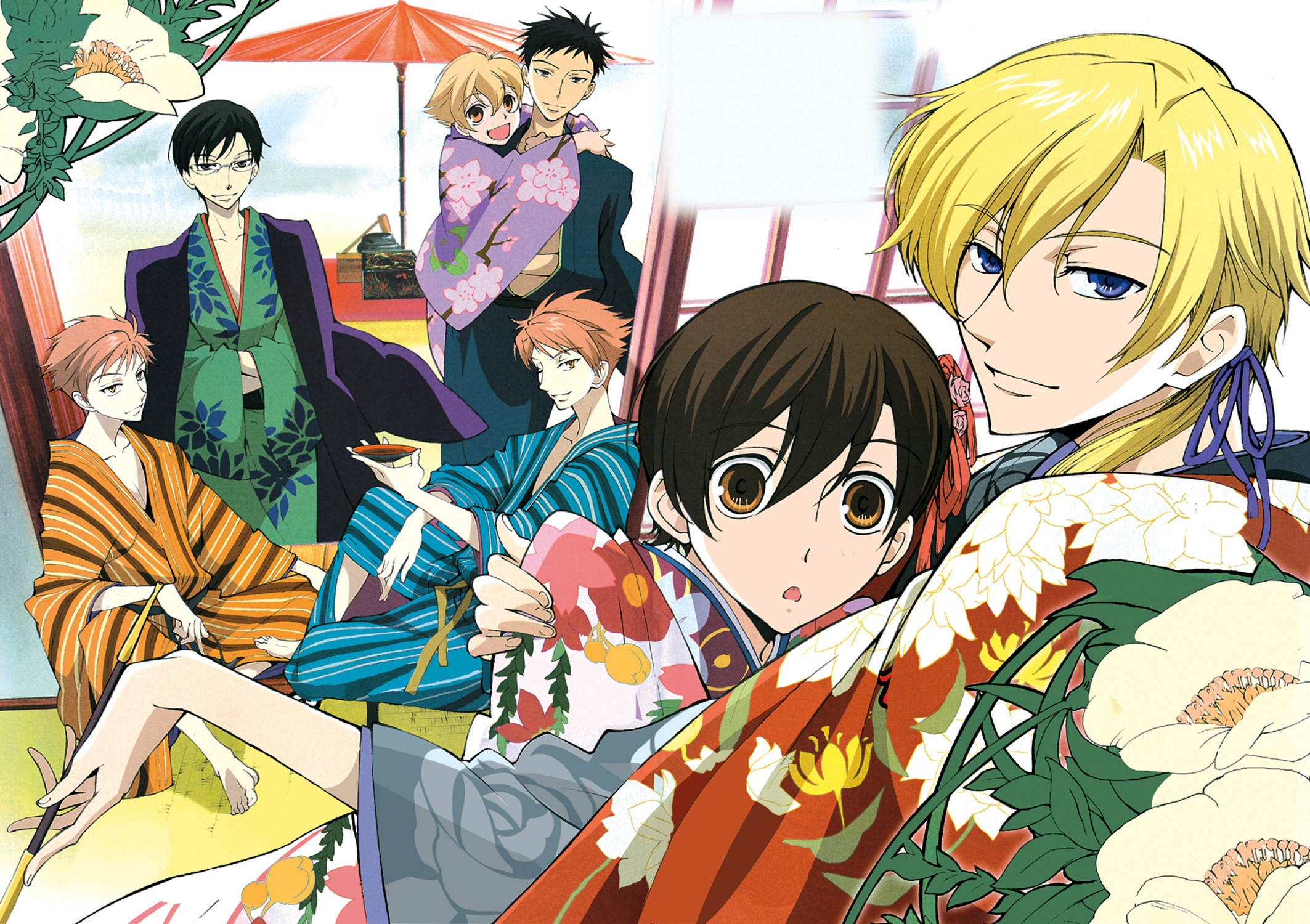 Ouran Highschool Host Club Wallpaper