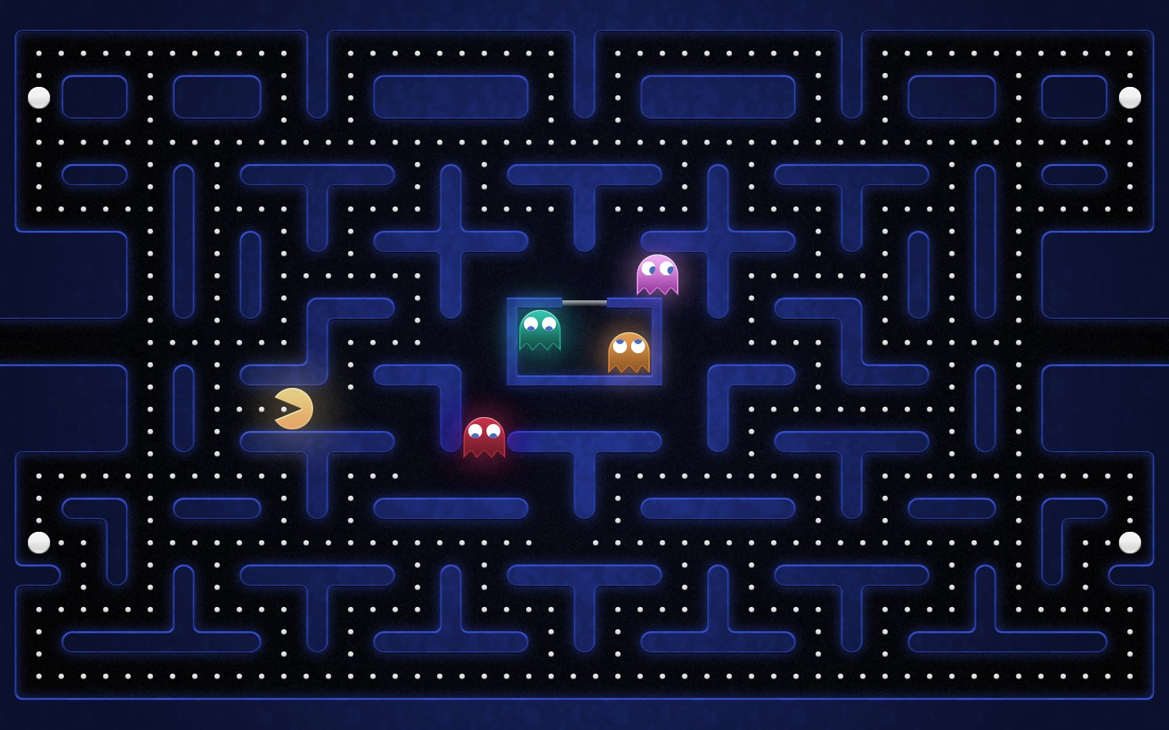 Pac Man Wallpaper