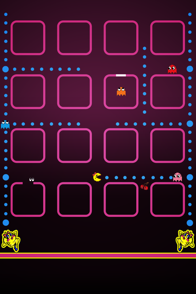 Pacman Wallpaper For Iphone