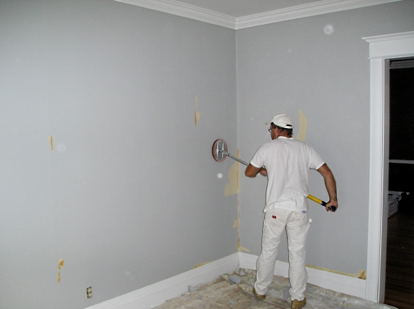 Paint After Wallpaper