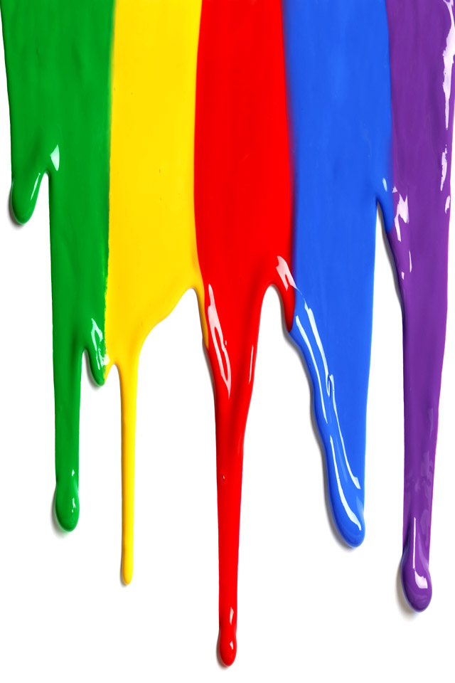 Paint Drip Wallpaper