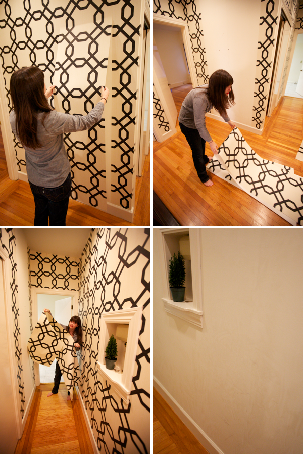 Paint Over Wallpaper Sherwin Williams