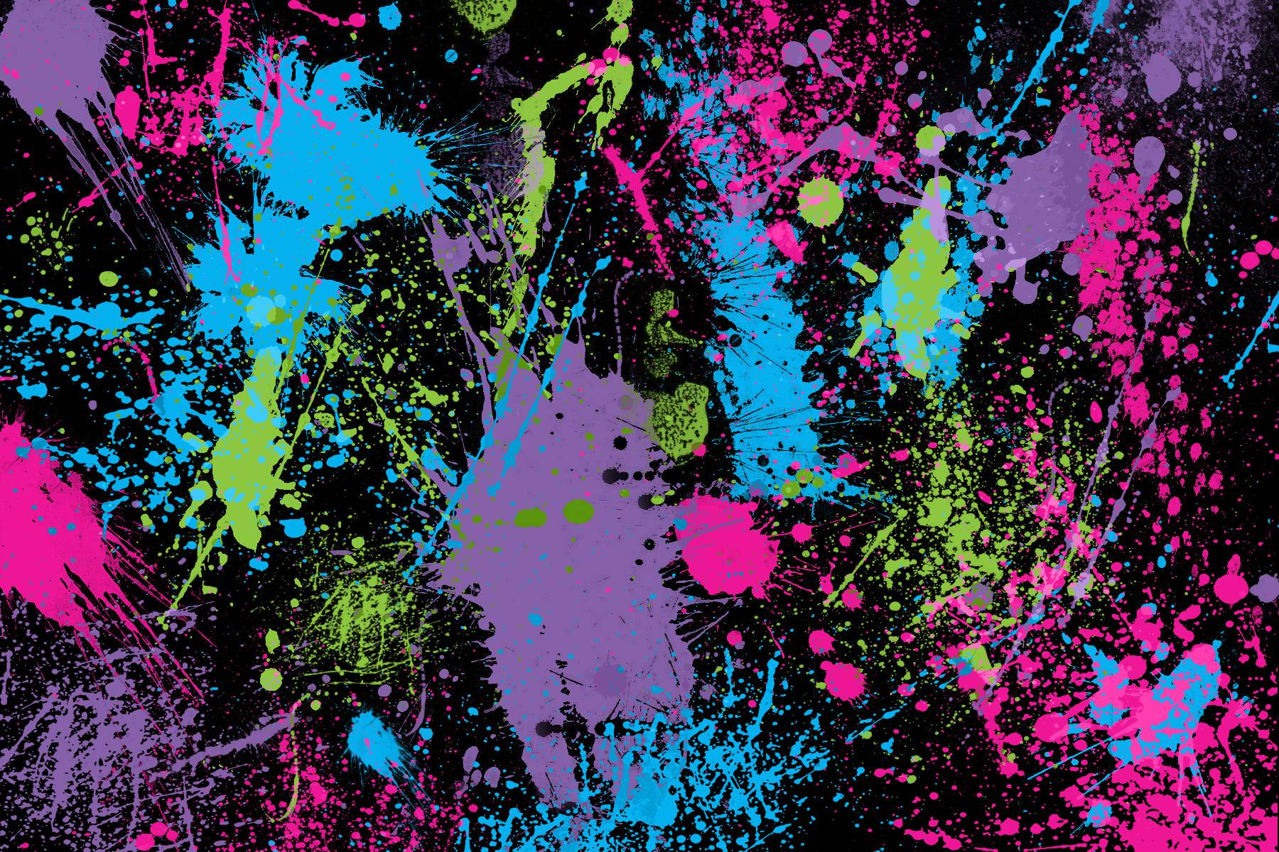Paint Splat Wallpaper