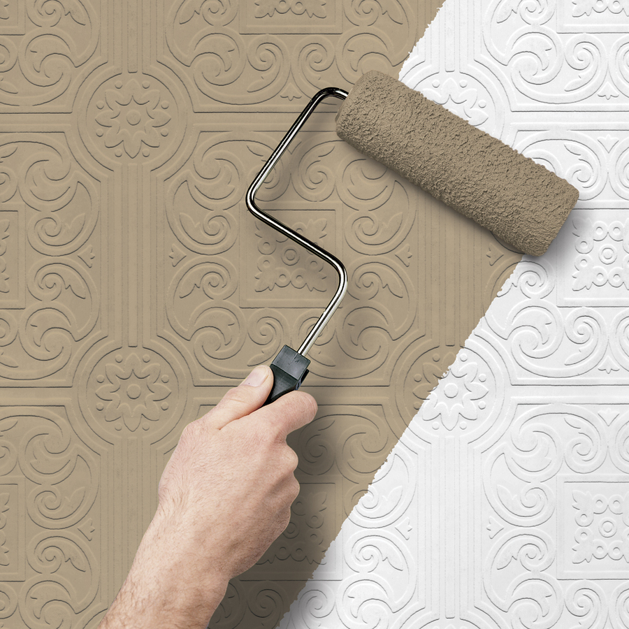 Paintable Textured Wallpaper Lowes