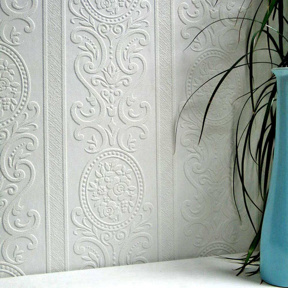 Paintable Wallpaper Home Depot