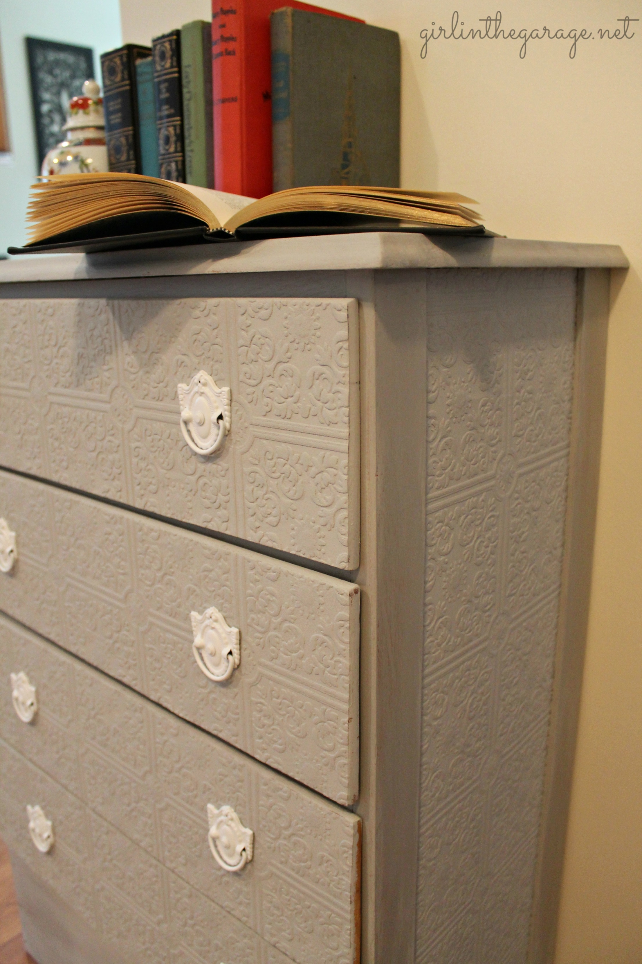 Paintable Wallpaper On Furniture