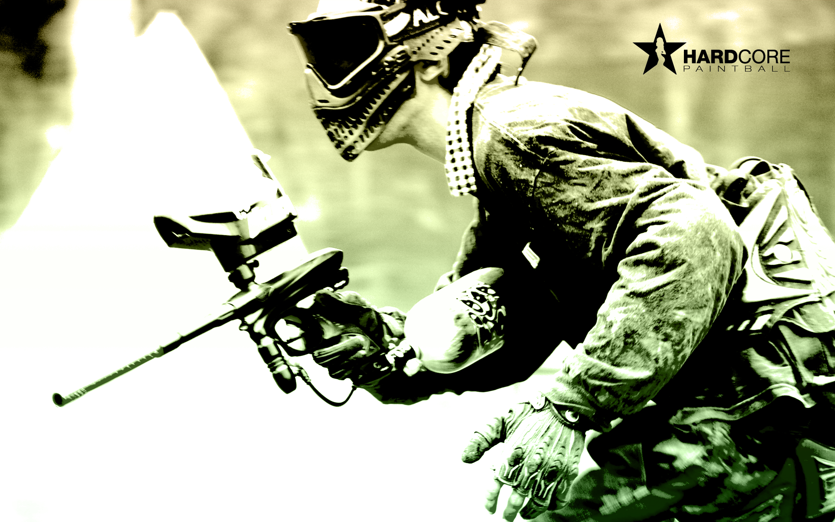 Paintballing Wallpaper