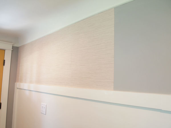 Painting Grasscloth Wallpaper