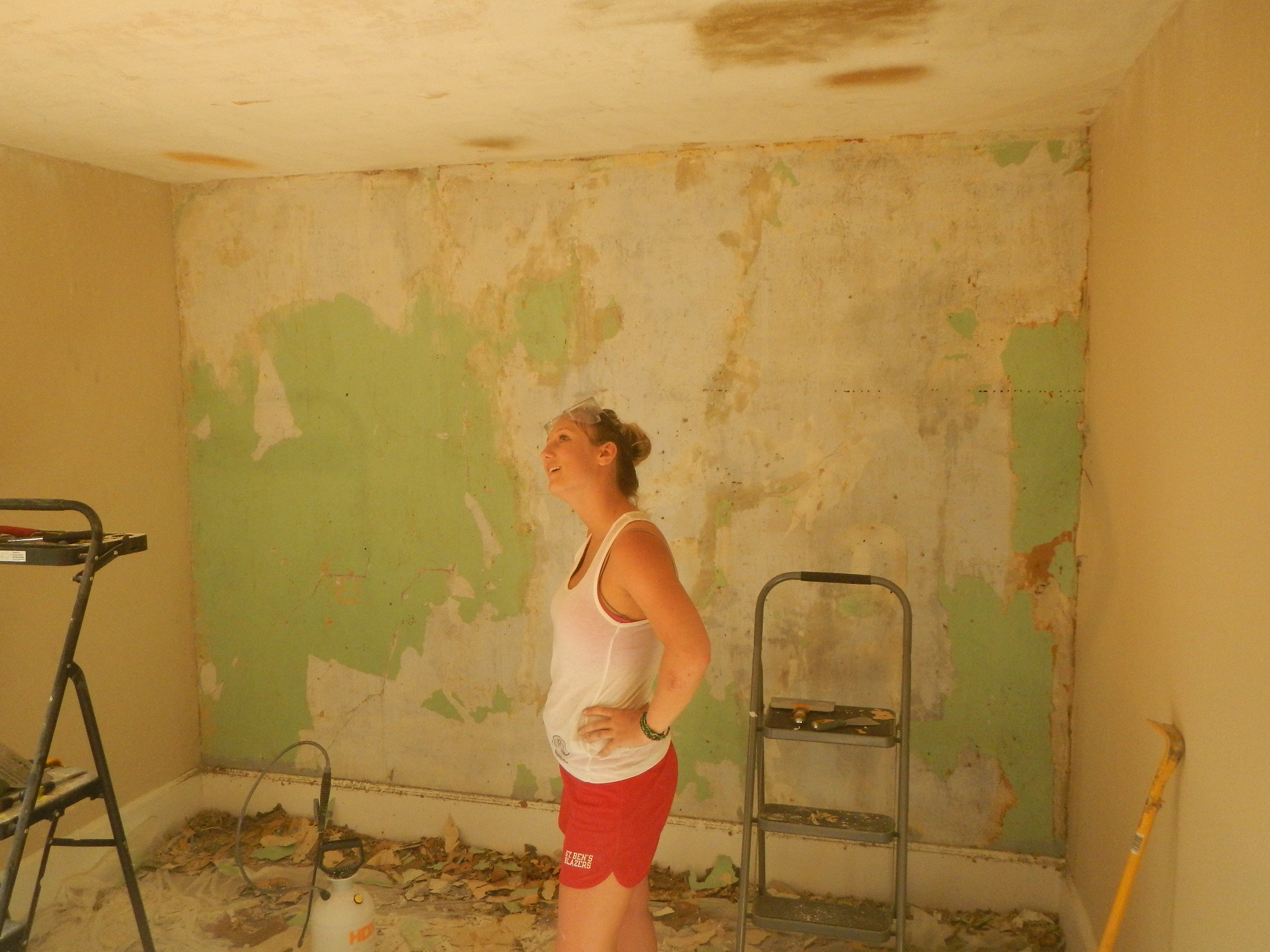 Painting Wall After Removing Wallpaper