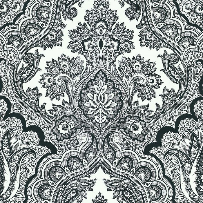 Paisley Pattern Wallpaper