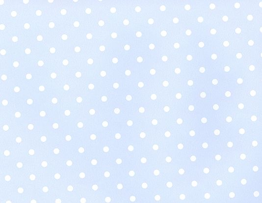 Pale Blue Polka Dot Wallpaper