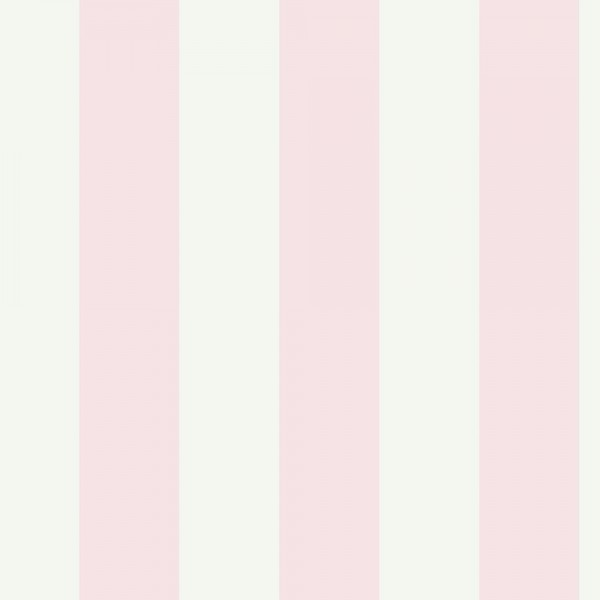 Pale Pink Striped Wallpaper