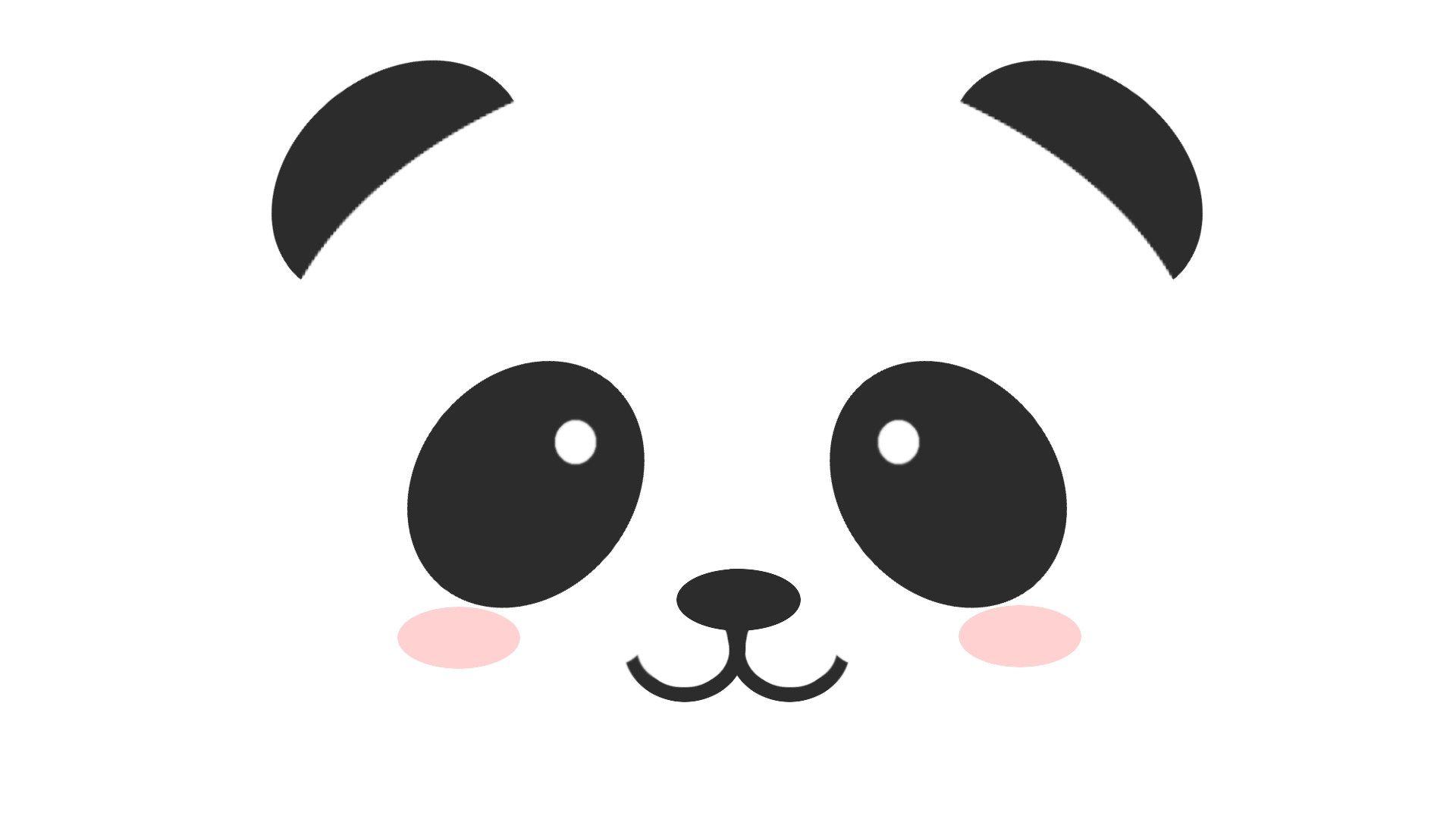 Panda Face Wallpaper