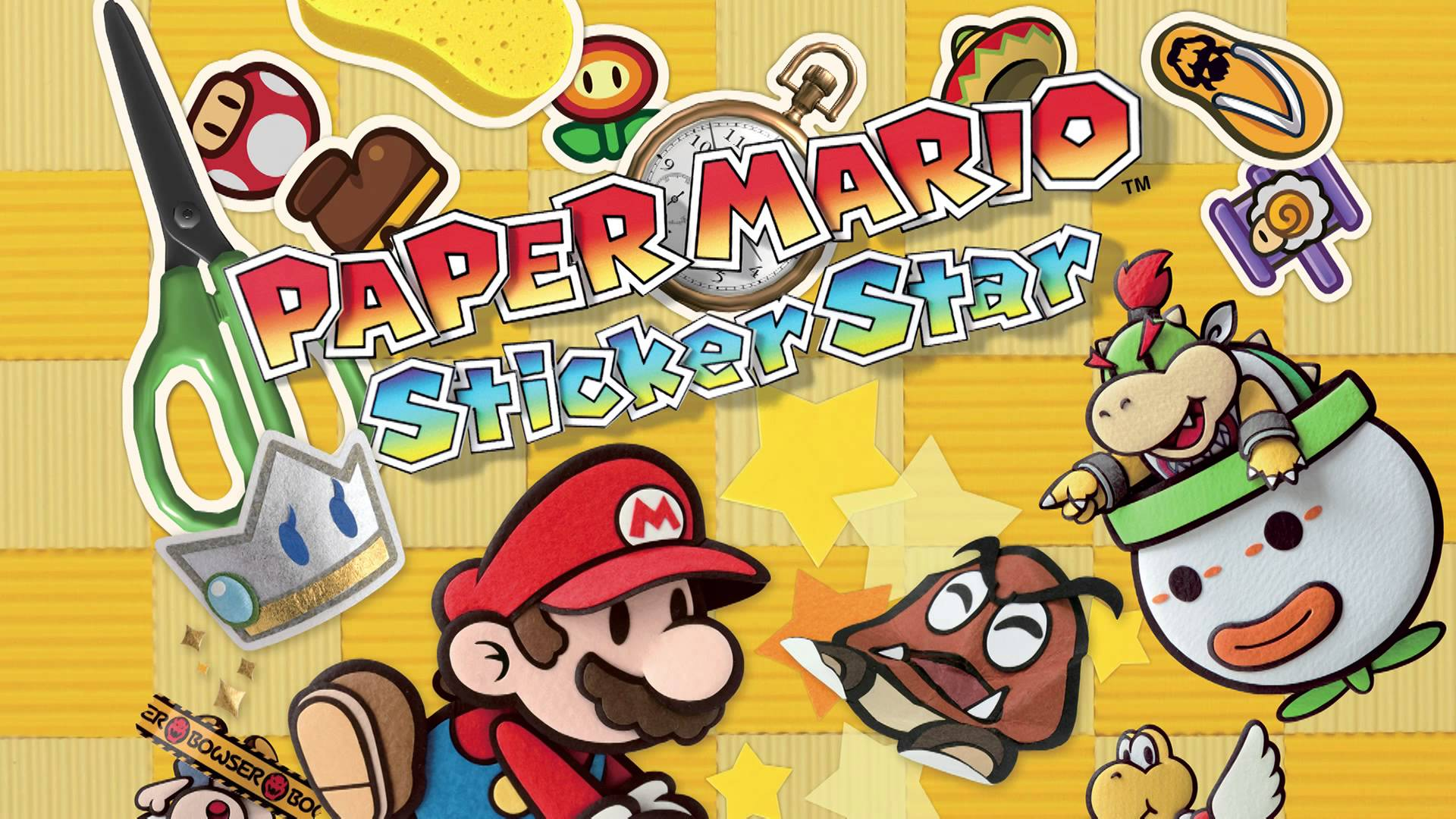 Paper Mario Sticker Star Wallpaper